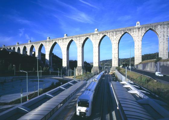aqueduct in lisbon turismo de portugal portugal travel