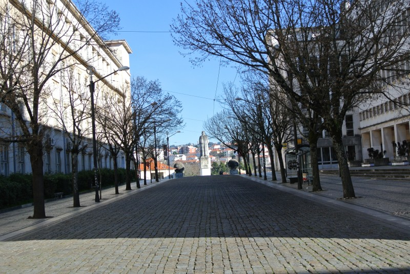 the road between the University portugal travel