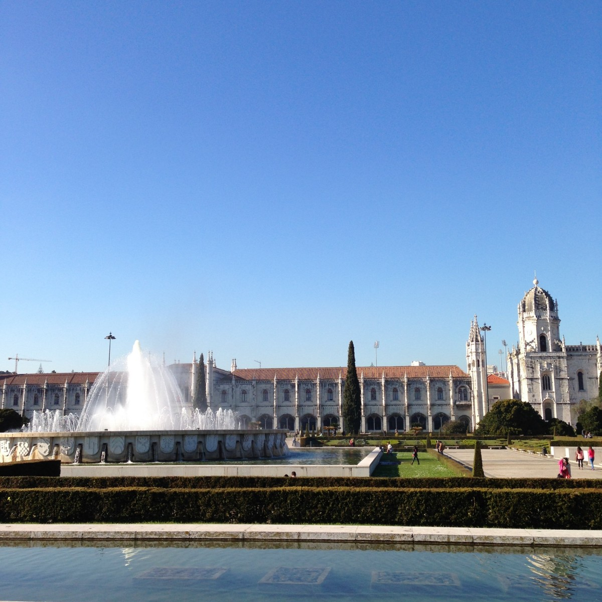 monastery jeronimos belem lisboa portugal travel